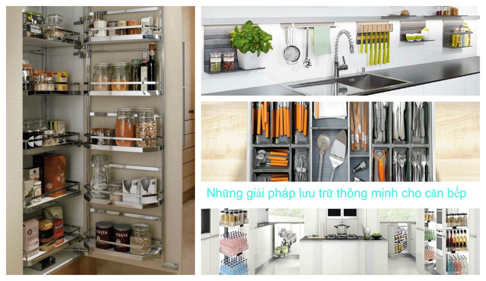 Phụ kiện tủ bếp thông minh cao cấp Luxury – Tiêu chuẩn Đức