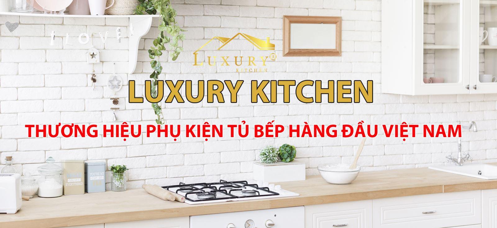 phụ kiện tủ bếp thông minh luxury chính hãng