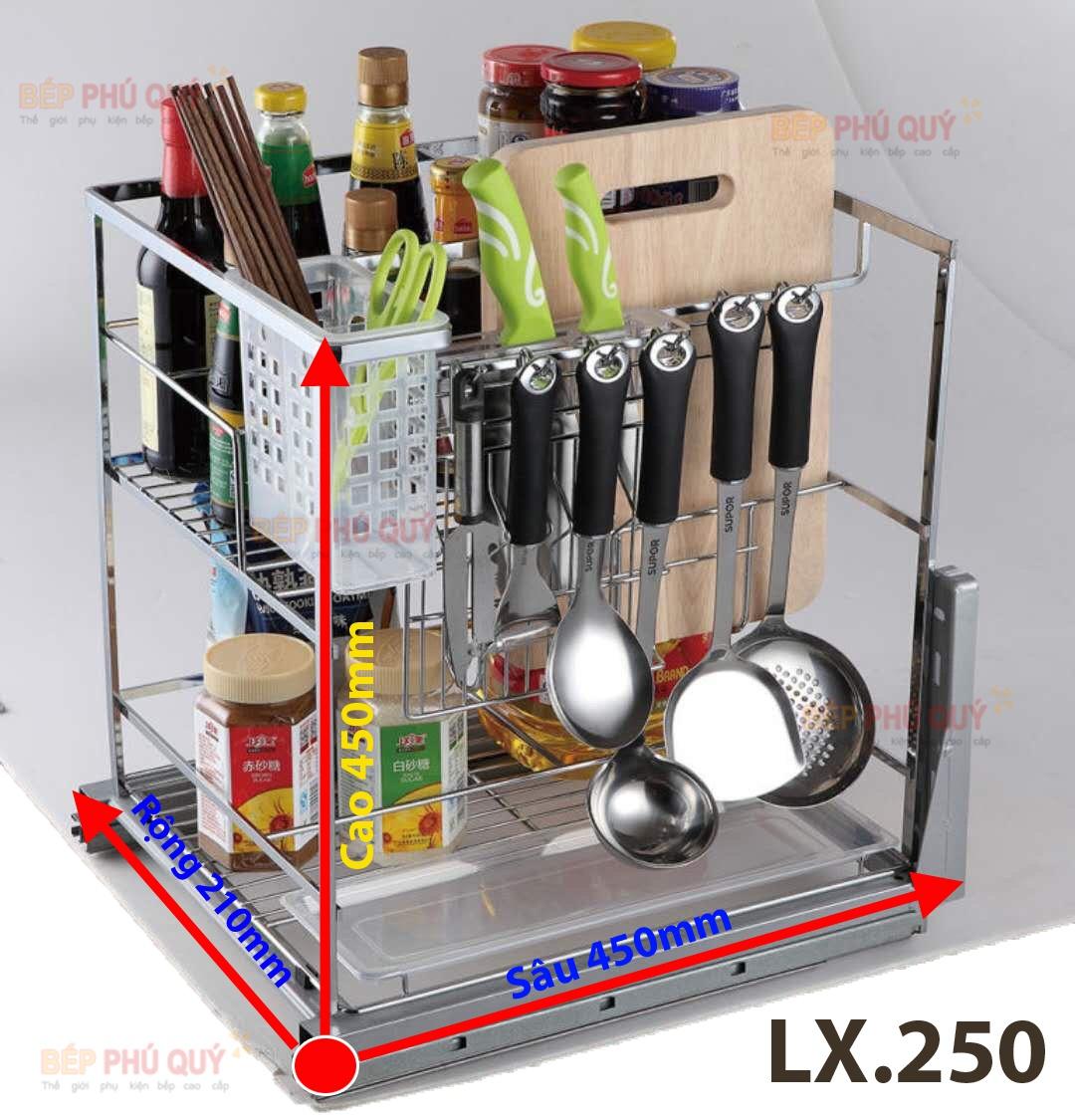 giá gia vị dao thớt luxury lx.250