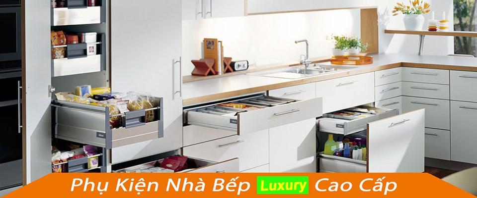 phụ kiện tủ bếp cao cấp luxury