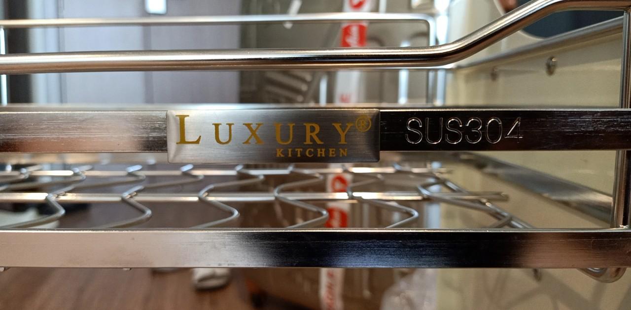 giá bát nâng hạ Luxury Inox 304
