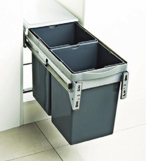 thùng rác đôi thông minh