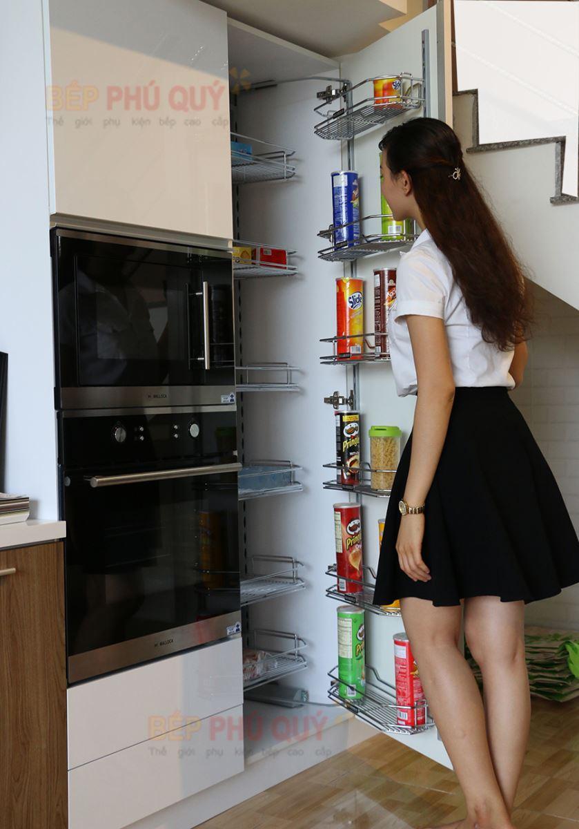 tủ đồ khô tủ khô đem đến cho không gian bếp sang trọng và đẳng cấp