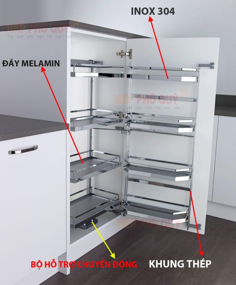 cấu tạo tủ đồ khô cao cấp luxury