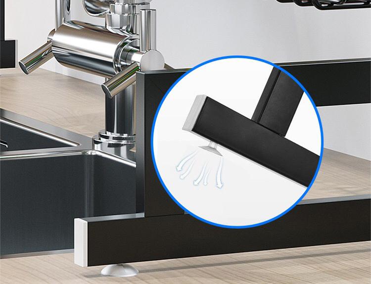 đế đệm cau xu hút chân không - kệ úp chén trên bồn rửa bát