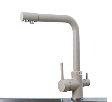 Vòi rửa bát đồng mạ Crom Roslerer RL-904